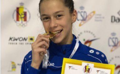 Džejla Makaš je prvakinja Evrope u taekwandou