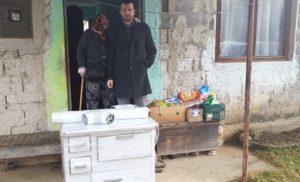 Uručena pomoć za nanu Fatimu iz Kaćuna (FOTO)