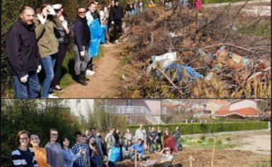 Srednjoškolci očistili bh. gradove (FOTO)