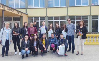 """Učenica iz Kaćuna se kvalifikovala na državno takmičenje """"Olimpijada njemačkog jezika 2019."""" (FOTO)"""